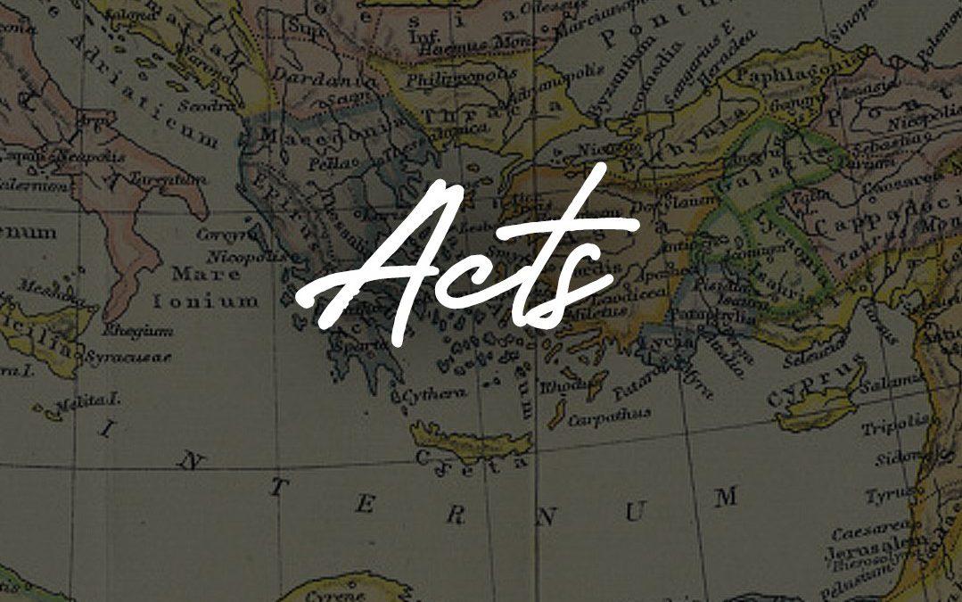 Acts – Part Nine – Paul in Prison