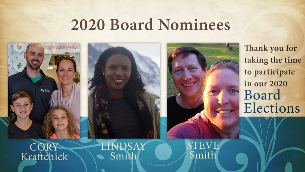 2020 Board Nominees