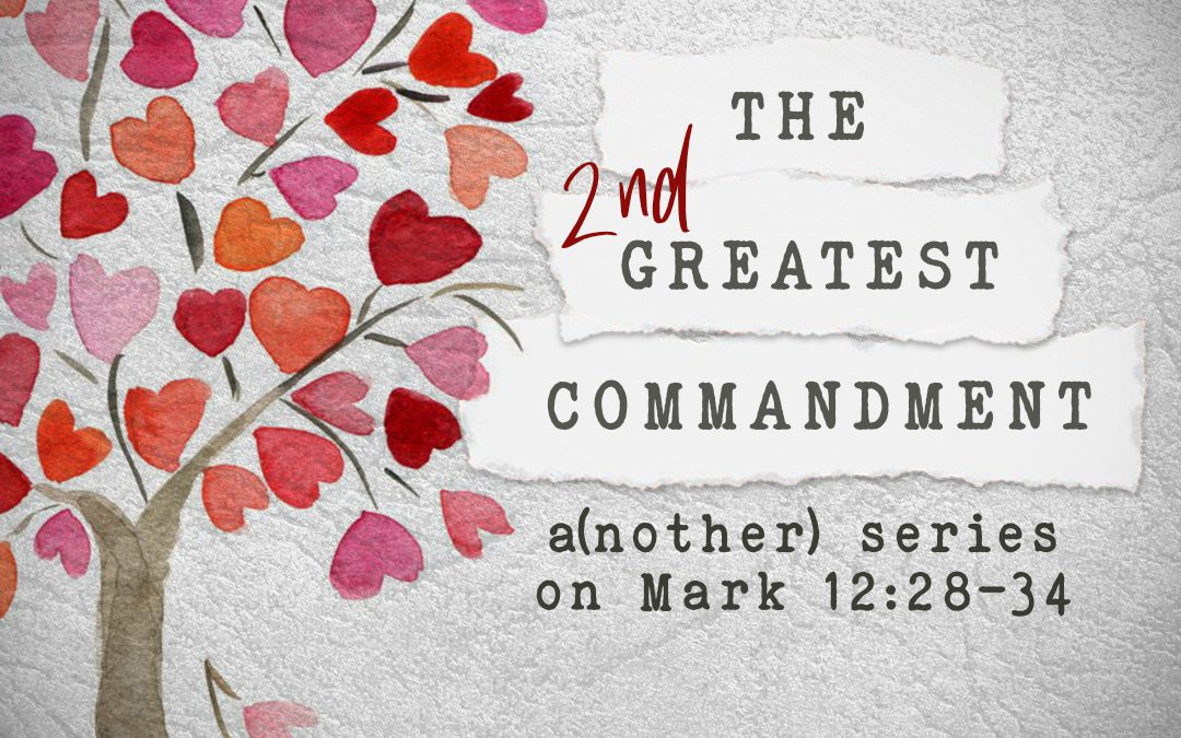 The Second Greatest Commandment: Part Four – Be Good to the Baby